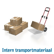 Intern transportmateriaal